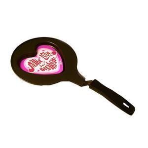 Fryingpan in the shape of a heart