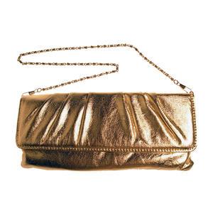 Kuvertväska i guld eller silver