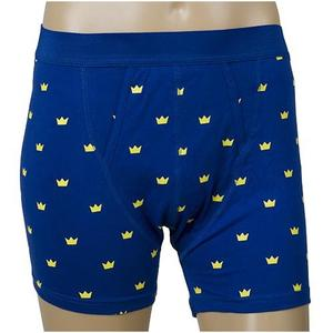 Boxers with swedish crowns.