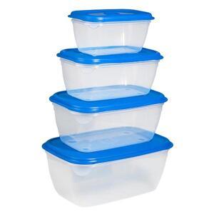Plastic jar 4 pieces