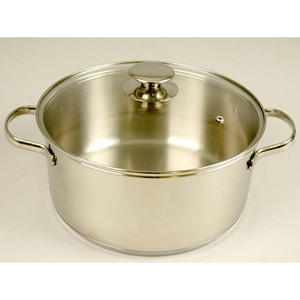 Casserole with glass-lid 5L